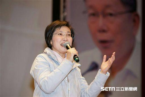 柯文哲赴新竹輔選徐欣瑩/柯爸柯媽 民眾提供