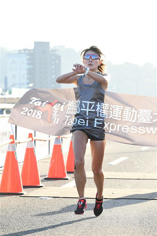 ▲最強上班族跑者陳瑋琳。(圖/大漢集團提供)