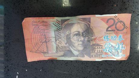 澳洲,假鈔,偽鈔,澳幣,大陸,Made in China 圖/翻攝自澳洲新聞網