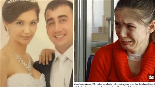 俄羅斯一名29歲女子維安尼卡(Veronika Mescheryakova)罹患罕見疾病,會有短期失憶的症狀。去年11月她與丈夫已離婚,但她每天都痴痴地在家等,母親只好每天重新告訴她殘酷的真相,導致她天天為此痛哭。(圖/翻攝自每日郵報)