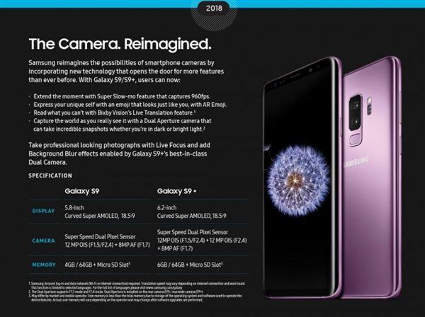 三星.Galaxy S9,S9 Plus,拍照,DXOMark,S9+,手機,S9