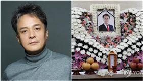 趙敏基,性侵,性騷擾,自殺,告別式,出殯,弔唁(圖/翻攝自微博、연합뉴스)