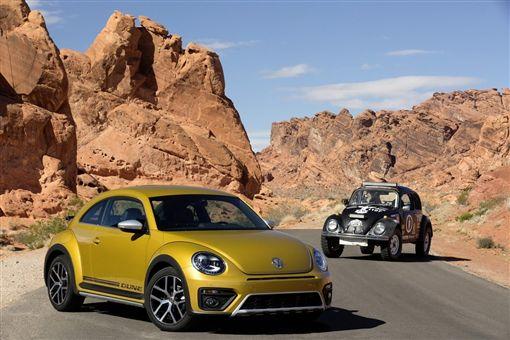 Volkswagen Beetle金龜車。(圖/翻攝Volkswagen網站)