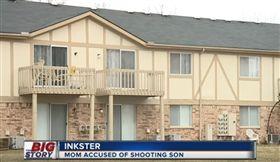 美國密西根州英克斯特一名17歲少年因為不去學校,他的媽媽氣得朝他開槍,導致他的肩膀中彈重傷,所幸少年送醫後情況算是穩定,而這名涉嫌槍殺兒子的媽媽已被當地警察拘捕。(圖/翻攝自YouTube《WXYZ-TV Detroit   Channel 7》)