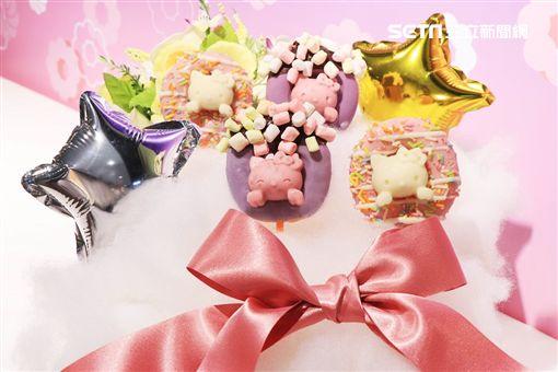 甜甜圈,Mister Donut,三麗鷗,聯名,白色情人節,Hello Kitty,波堤