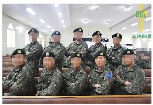 CNBLUE,鄭容和/翻攝自50연대 교회 커뮤니티