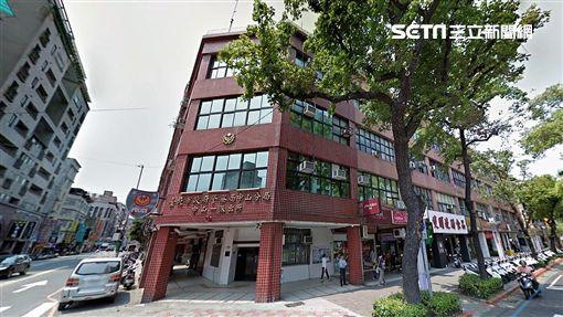 台北市中山分局中山一派出所外觀(翻攝自Google Map)