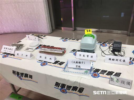 台北,刑事局,新北,淡水,溫室水耕,大麻,毒品