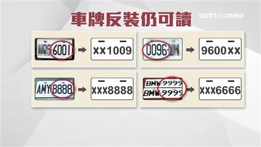 9696反裝還是9696 糊塗車主挨罰扣牌(車主,行車紀錄器,車牌,檢舉,罰款,吊銷)