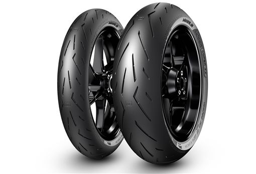 Pirelli Diablo Rosso Corsa II複合輪胎。(圖/Pirelli提供)