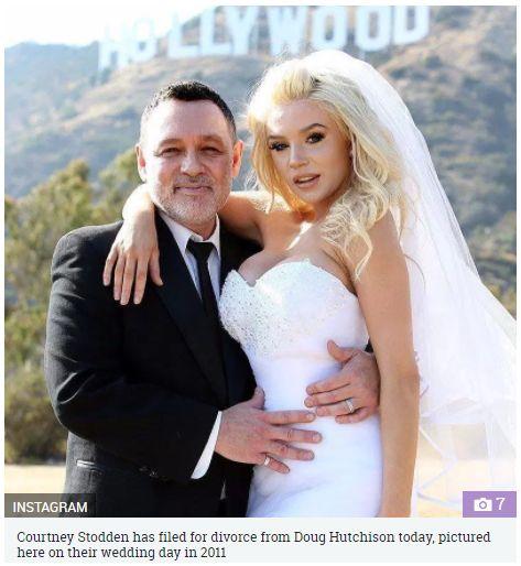 美模特兒當年16歲嫁「老爸」,如今離婚後全裸出浴照讓粉絲噴鼻血。(圖/翻攝The Sun)