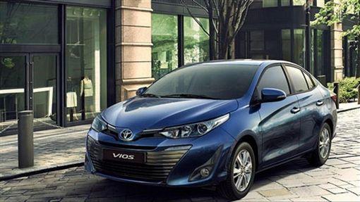 Toyota VIOS。(圖/翻攝Toyota網站)