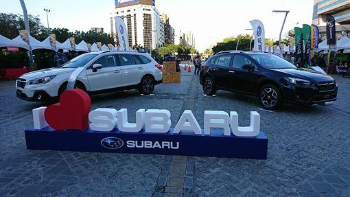 Subaru台灣意美汽車獨家贊助的「2018國際自由車環台公路大賽」。(圖/Subaru提供)