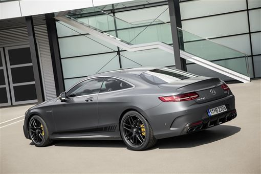 Mercedes-Benz The new S-Class Coupé正式登台。(圖/Mercedes-Benz提供)