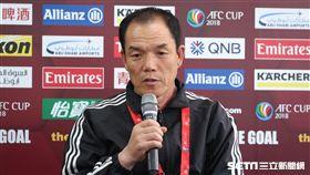 ▲北韓4.25 SC教練昊允善。(圖/記者蔡宜瑾攝影)