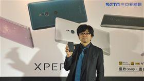 Sony Xperia XZ2 葉立斌攝 設計師IIJIMA YOSHIMUNE 飯嶋義宗