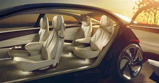 Volkswagen I.D. VIZZION 概念車。(圖/翻攝Volkswagen網站)
