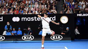 ▲費德勒成功衛冕澳網男單冠軍。(圖/翻攝自澳網官方推特)