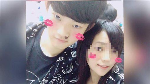 香港女遭殺害  死者和兇嫌 翻攝自臉書