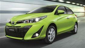 Toyota Yaris。(圖/翻攝Toyota網站)