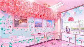 統一超商,櫻花季。