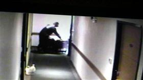 港女遭殺害棄屍 旅店監視畫面 翻攝畫面
