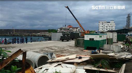 抗共軍繞台 國軍在綠島佈署鷹式飛彈_內部畫面