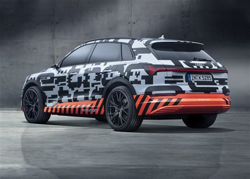 Audi e-tron Prototype。(圖/翻攝Audi網站)