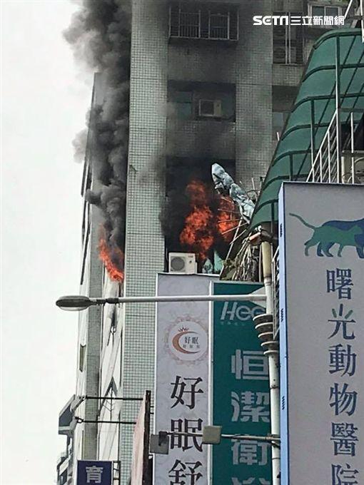 火警,銀行,大樓,傷亡,板橋