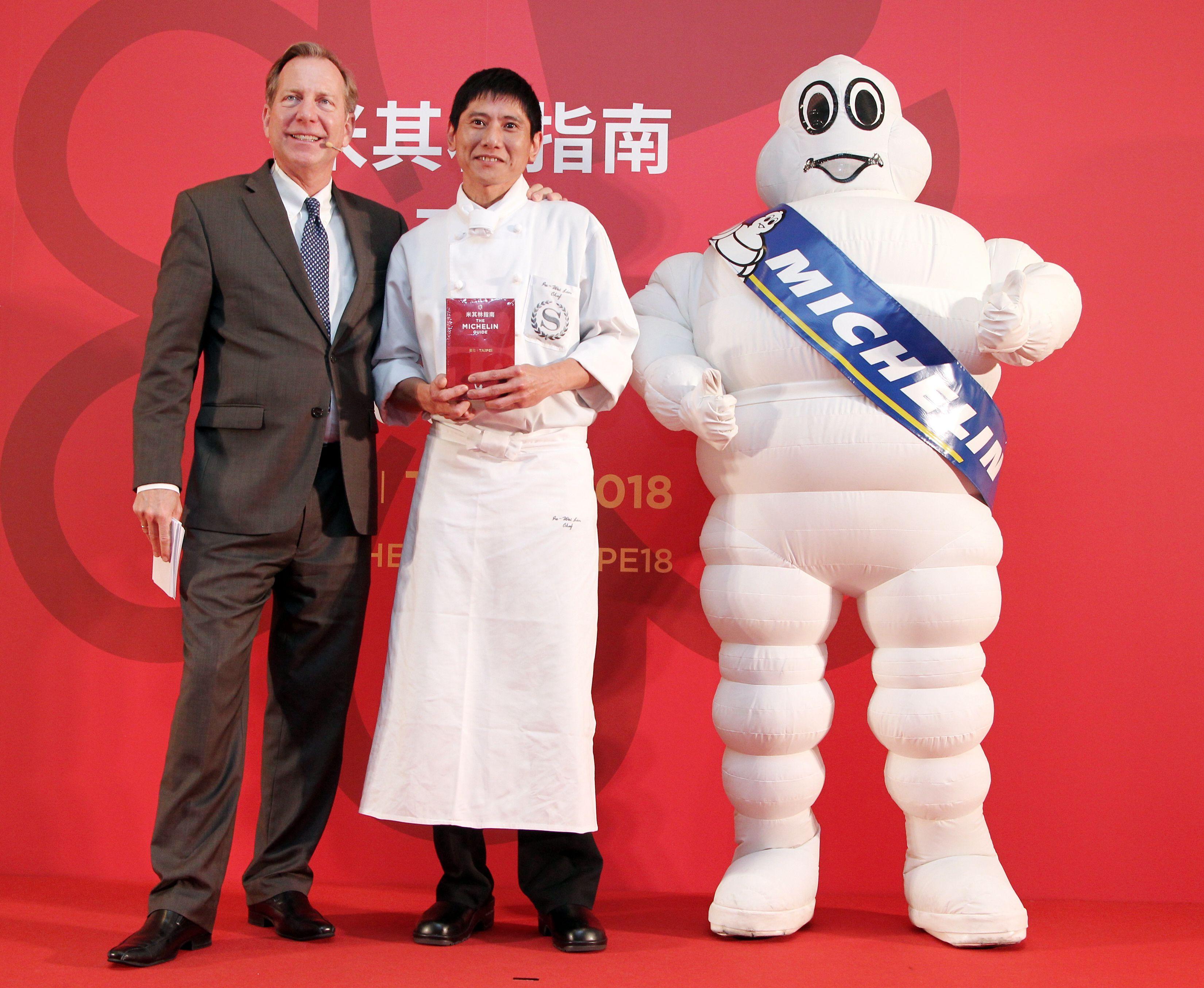 台北喜來登大飯店-請客樓獲得米其林二星餐廳。(記者邱榮吉/攝影)