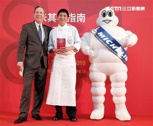 台北喜來登大飯店-請客樓 祥雲龍吟獲得米其林二星餐廳。(記者邱榮吉/攝影)