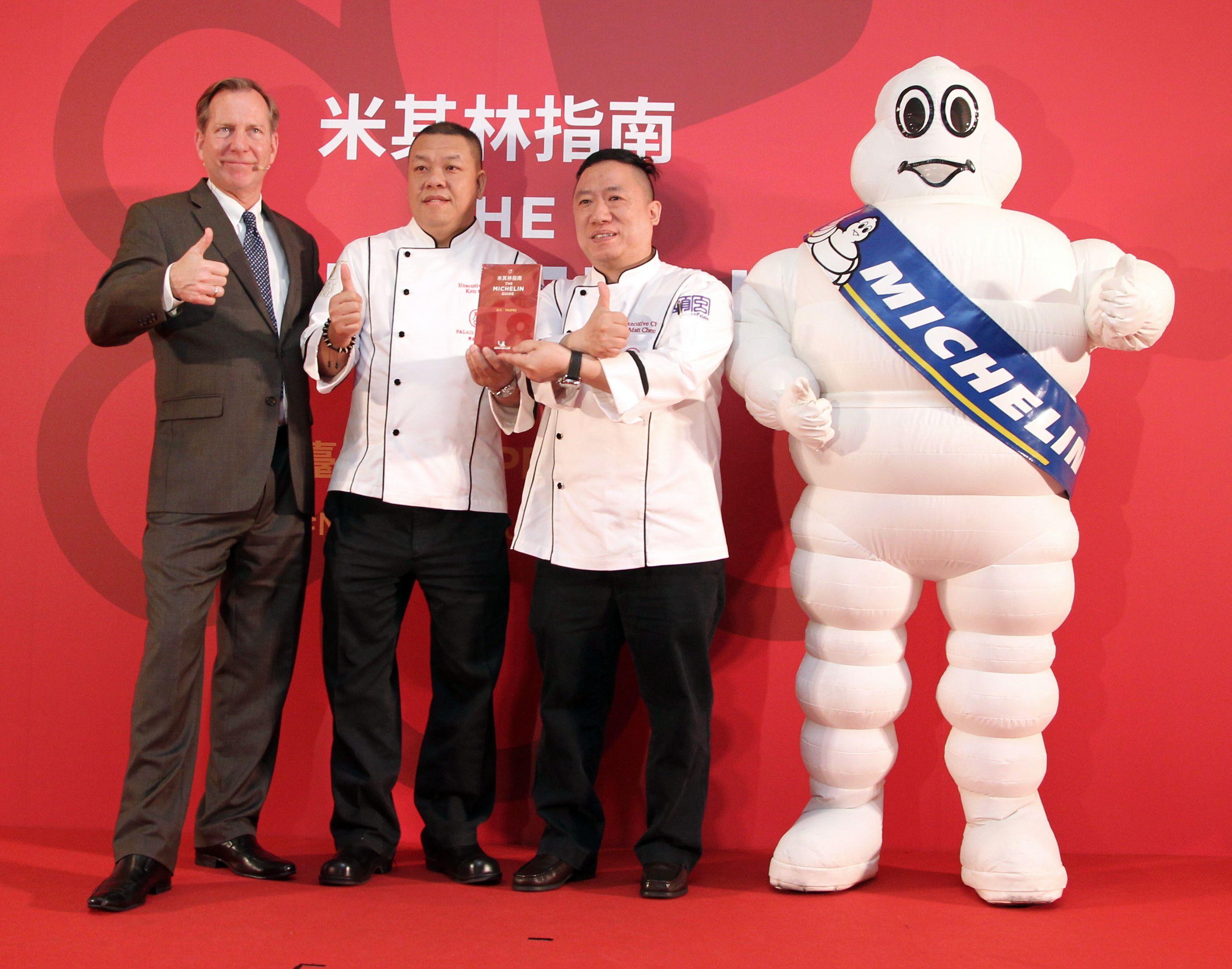 君品酒店-頤宮獲得米其林唯一三星餐廳。(記者邱榮吉/攝影)