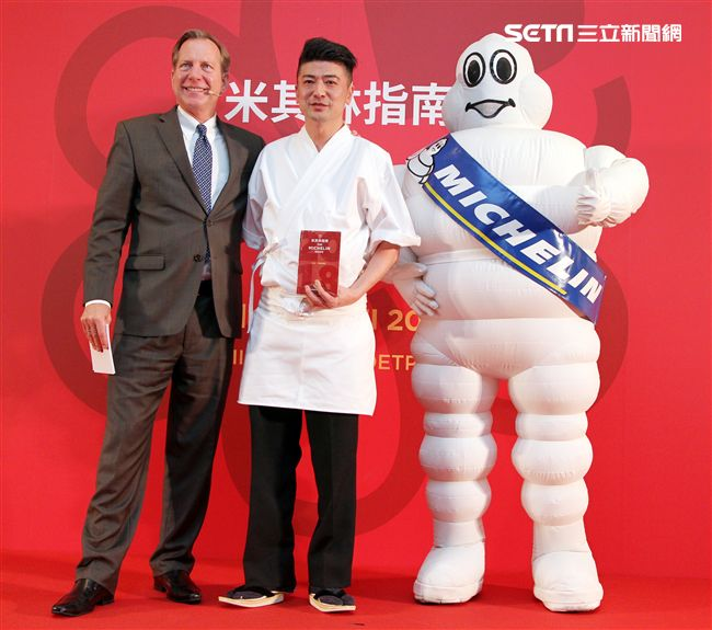 謙安和 Ken Anho 獲得米其林一星餐廳。(記者邱榮吉/攝影)
