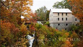 米其林,美國,餐廳,The Lost Kitchen,訂位,明信片,抽籤 圖/翻攝自臉書