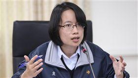 吳音寧:沒有不出來面對台北農產運銷公司總經理吳音寧(圖)8日表示,北農休市她一直有向市政府與農委會報告產地的情形、預估的到貨量與現場工作人員調度狀況,沒有不出來面對。中央社記者張皓安攝  107年3月8日