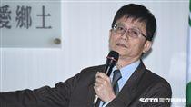 環保署副署長詹順貴赴民進黨中常會說明中央空污防治策略。 圖/記者林敬旻攝