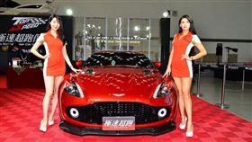 Aston Martin Vanquish Zagato。(圖/鍾釗榛攝影)