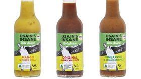 ▲Usain Bolt自創品牌推出3款加勒比海口味辣椒醬。(圖/翻攝自網路)