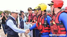 柯文哲出席出席107年災害防救演習 北市府提供