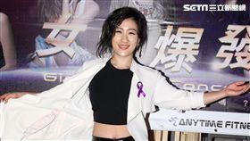 劉明湘出席女力爆發演唱會。(記者邱榮吉/攝影)