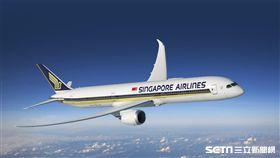 新加坡航空,波音787-10。(圖/新加坡航空提供)