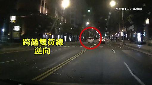 自豪錄影不遲到!直擊徐乃麟「紅燈右轉、逆向」