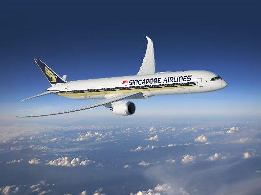 新航波音787-10客機 有機會飛台灣新加坡航空台灣分公司總經理黃文杰15日表示,新航預計3月底營運全球首架787-10客機,並有機會飛台灣航線。(新加坡航空提供)中央社記者汪淑芬傳真  107年3月15日