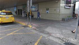 舊車站無階梯門檻 直衝大廳有風險
