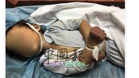 馬來西亞2歲女童努阿法被母親哈斯瑪獨留車裡4小時,最後被活活悶死(圖/翻攝自《中國報》)