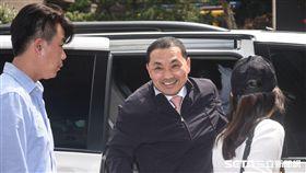 國民黨新北市長擬參選人侯友宜5日前往新北市黨部領表並登記參選。 圖/記者林敬旻攝