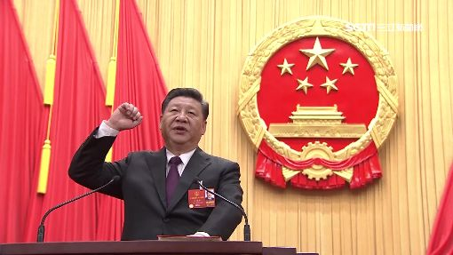 習近平連任國家主席 北京罕降3月雪