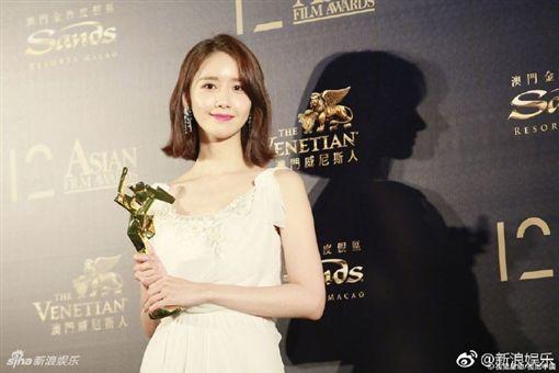 第12屆亞洲電影大獎,飛躍新星獎,潤娥。(圖/翻攝自微博)