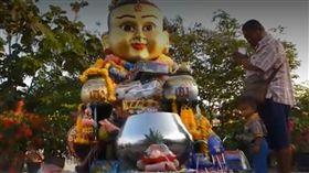 中獎,彩券,泰國,古曼童,靈童,Phra Nakhon Si Ayutthaya,明牌 圖/翻攝自泰國網