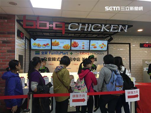 全家炸雞,bb.q CHICKEN(記者郭奕均攝影)